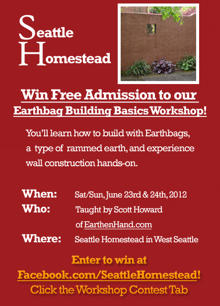 Earthbag Building Workshop Contest