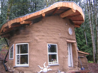 Earthbag Cob Cabin